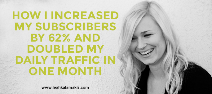 Increase Subscribers & traffic